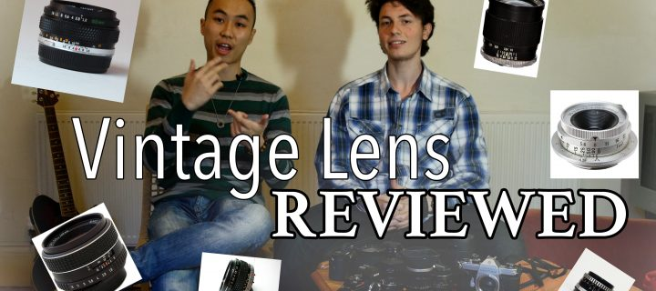 Vintage Lenses Video Review