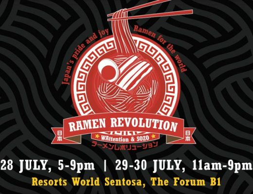 Singapore's Very First Ramen Expo Reviewed!