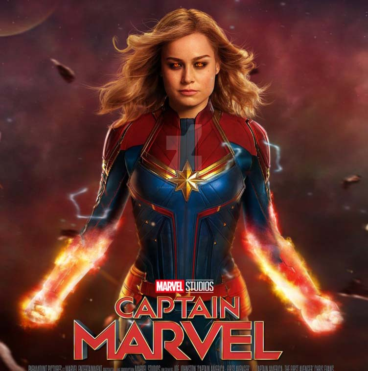 Captain Marvel film review post image Controller Companies
